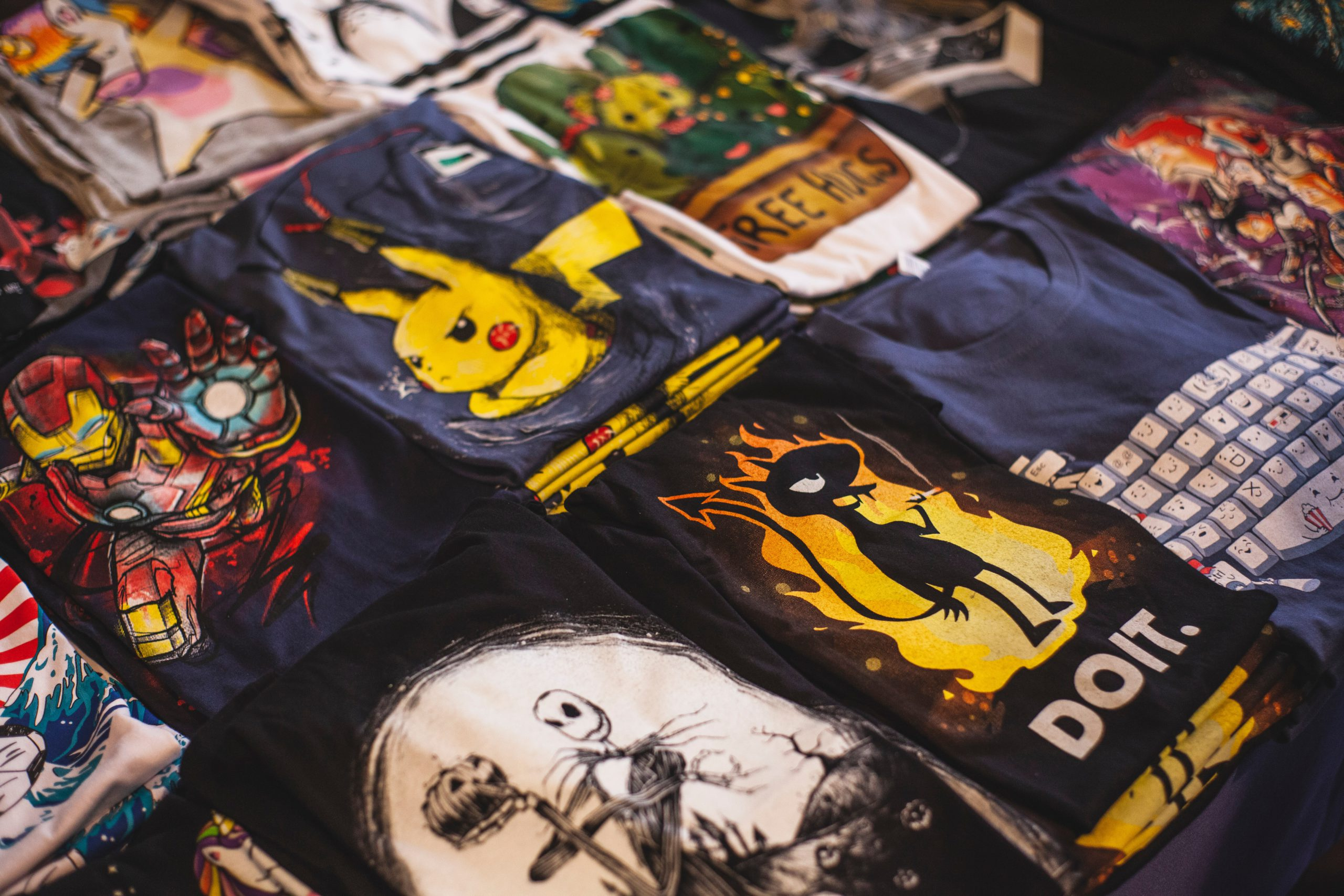 types of graphic design graphic tees