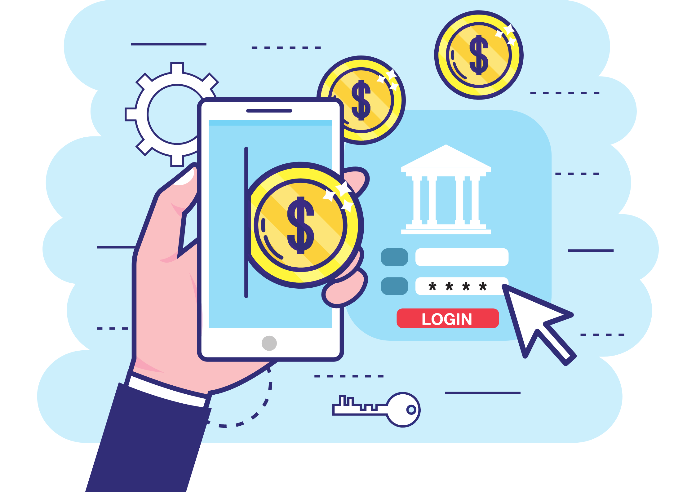 online banking phygital